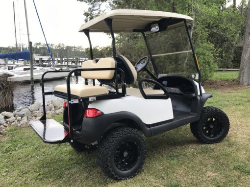 lifted golf car club car